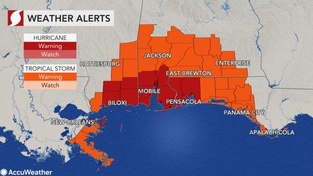 Mắt bão khổng lồ của Sally: Cơn bão dự báo gây ra trận lũ lụt lịch sử tại Mỹ; 10 triệu người được cảnh báo - Ảnh 2.