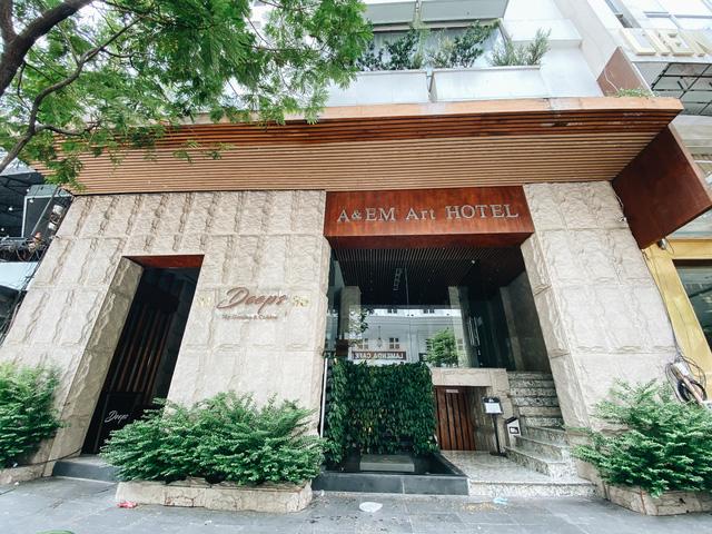 Chùm ảnh: Khách sạn ở trung tâm Sài Gòn ngừng hoạt động, rao bán vì ngấm đòn Covid-19  - Ảnh 14.