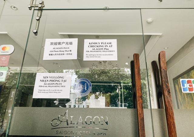 Chùm ảnh: Khách sạn ở trung tâm Sài Gòn ngừng hoạt động, rao bán vì ngấm đòn Covid-19  - Ảnh 3.