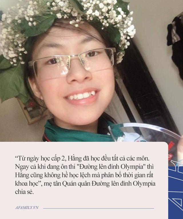 Tân quán quân Đường lên đỉnh Olympia: Mỗi tối học từ 7 rưỡi đến 11 giờ, không đi học thêm nhưng mẹ tiết lộ một điều quan trọng làm nên thành công  - Ảnh 2.