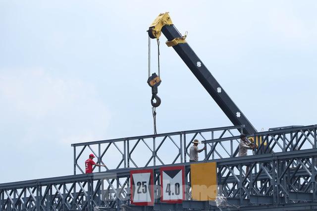 Cận cảnh cây cầu thay thế bến phà cuối cùng trong nội thành Sài Gòn  - Ảnh 5.