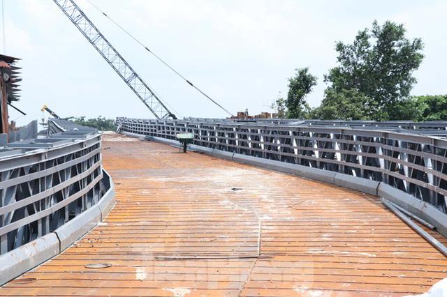 Cận cảnh cây cầu thay thế bến phà cuối cùng trong nội thành Sài Gòn  - Ảnh 7.