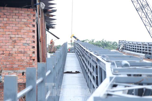 Cận cảnh cây cầu thay thế bến phà cuối cùng trong nội thành Sài Gòn  - Ảnh 8.
