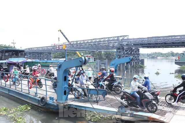 Cận cảnh cây cầu thay thế bến phà cuối cùng trong nội thành Sài Gòn  - Ảnh 9.