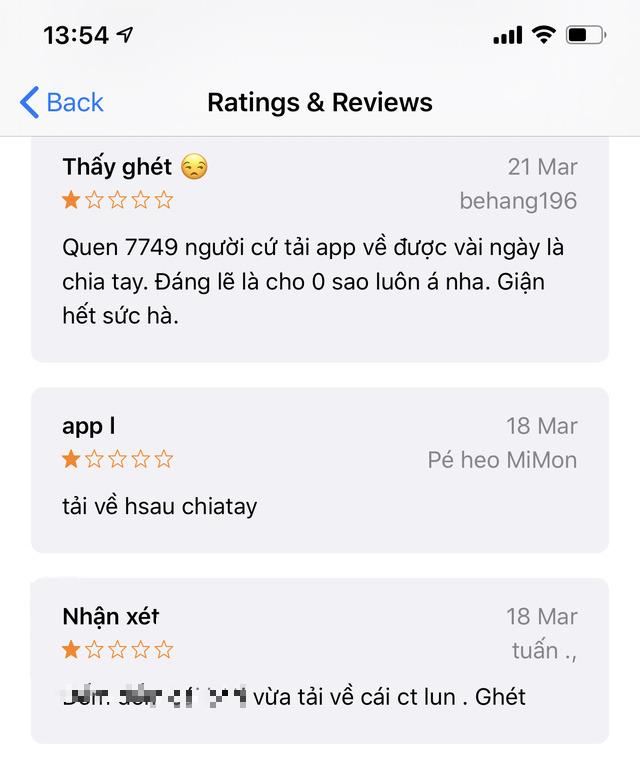 Ứng dụng đếm ngày hẹn hò bị nhiều dân mạng Việt đánh giá 1 sao vì lý do: Cứ tải về là cãi nhau, chia tay - Ảnh 2.