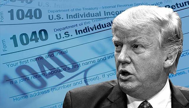Ông Trump nói thông tin trốn thuế của New York Times là fake news - Ảnh 1.