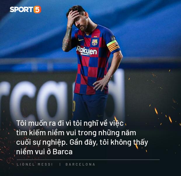 Chả ai yêu Barca bằng thứ tình yêu lạ lùng như anh cả, Messi ạ! - Ảnh 3.