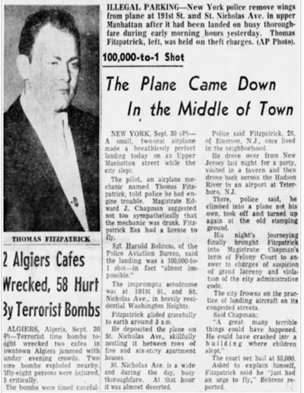Vụ cá cược khiến nước Mỹ ngỡ ngàng: Gã đàn ông say khướt đi cướp máy bay để bay ra giữa phố tận 2 lần vì chẳng ai tin lời mình - Ảnh 3.