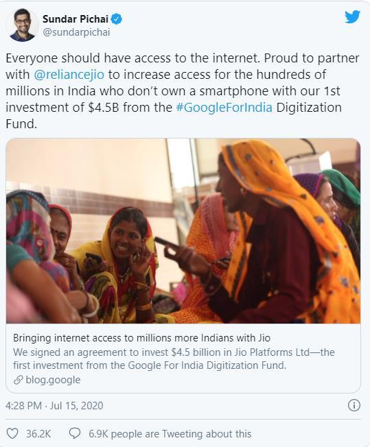 Mới thành lập từ 2019, vì đâu công ty Ấn Độ Jio Platform liên tiếp được Facebook, Google cùng hàng loạt quỹ tên tuổi rót vào vài chục tỷ USD? - Ảnh 5.