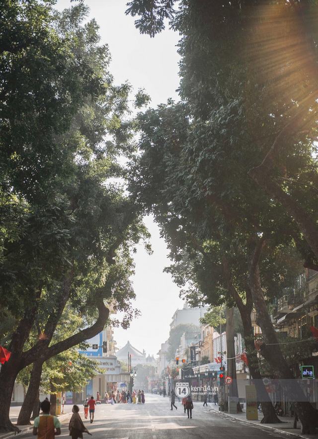 How beautiful is Hanoi in the first morning of 2021: friends, do you miss anything out there?  Photo 21.