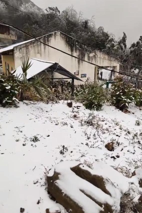Những khoảnh khắc băng tuyết phủ trắng Y Tý - Sapa, hoa đào nở đóng băng đẹp như cổ tích là dịp vô cùng hiếm hoi để du lịch vào thời điểm này! - Ảnh 26.