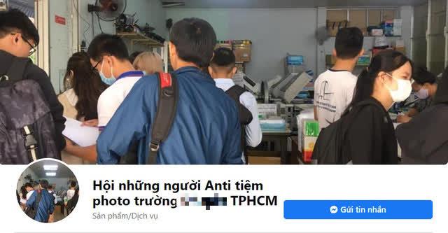 Bị tố giá cao và thái độ với khách hàng, quán photo tại một trường đại học tại TPHCM có ngay fanpage tẩy chay - Ảnh 1.