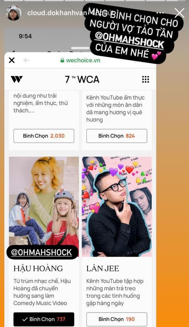 Cổng bình chọn WeChoice Awards 2020 vừa mở, dân tình đã kêu gọi vote ào ào tưng bừng trên MXH - Ảnh 5.