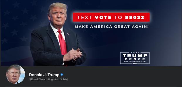 Facebook bất ngờ mở lại tài khoản cho ông Trump, nhưng không còn công nhận là Tổng thống Hoa Kỳ - Ảnh 1.