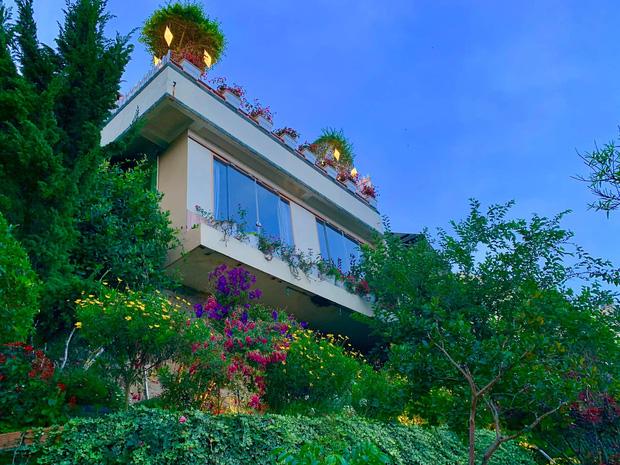 Rời Sài Gòn, cặp vợ chồng lên Đà Lạt xây ngôi nhà hướng mặt ra thung lũng, nhìn vườn hoa đào đẹp như cổ tích mà mê mệt - Ảnh 4.