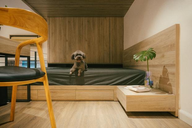 Chàng kiến trúc sư cải tạo căn hộ Pháp cổ, không gian tối giản nhưng sáng thoáng ngỡ ngàng - Ảnh 13.