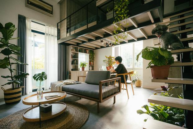 Chàng kiến trúc sư cải tạo căn hộ Pháp cổ, không gian tối giản nhưng sáng thoáng ngỡ ngàng - Ảnh 4.