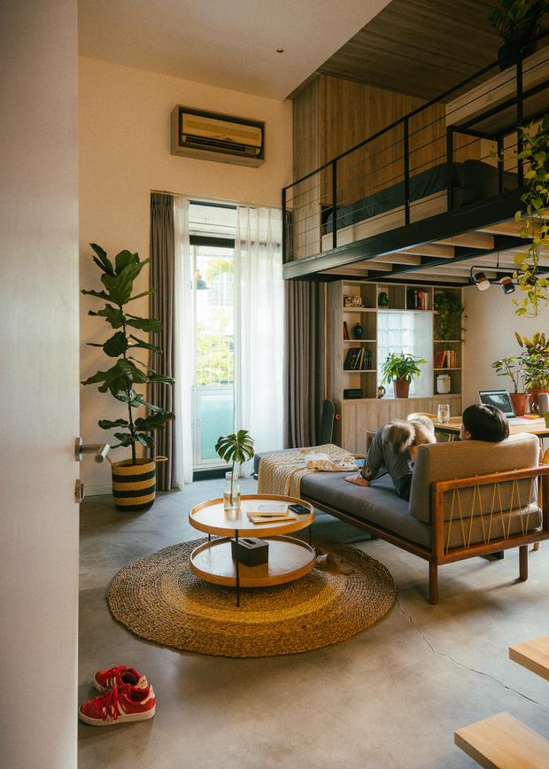 Chàng kiến trúc sư cải tạo căn hộ Pháp cổ, không gian tối giản nhưng sáng thoáng ngỡ ngàng - Ảnh 10.