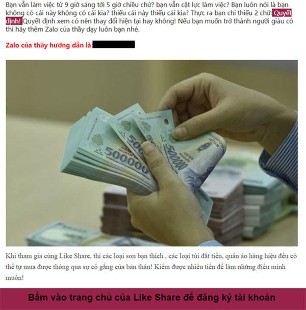 Cảnh giác với các tin nhắn mời chào kiếm tiền online có dấu hiệu lừa đảo - Ảnh 1.