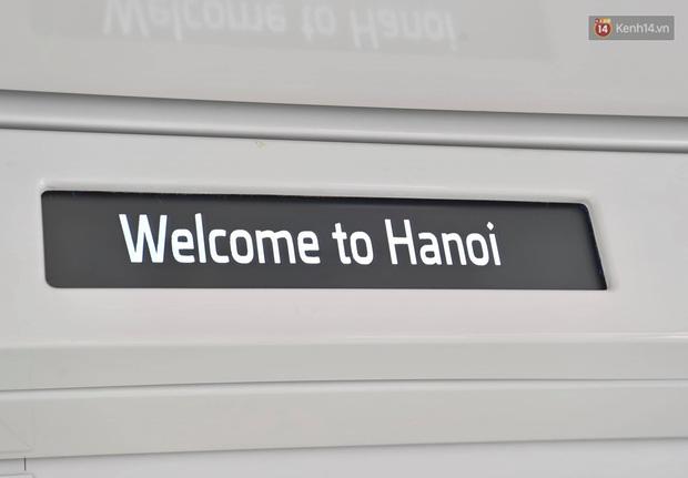 Ảnh: Cận cảnh đoàn tàu đầu tiên dự án Nhổn - ga Hà Nội - Ảnh 11.