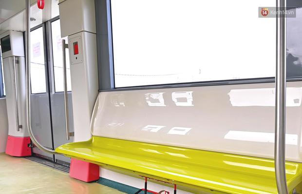 Ảnh: Cận cảnh đoàn tàu đầu tiên dự án Nhổn - ga Hà Nội - Ảnh 6.