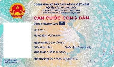 Mẫu thẻ căn cước công dân gắn chip quy định như thế nào? - Ảnh 1.