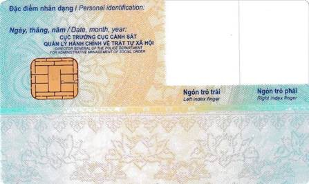Mẫu thẻ căn cước công dân gắn chip quy định như thế nào? - Ảnh 2.