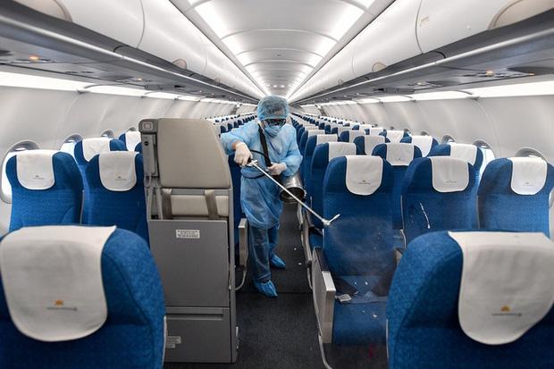 Vietnam Airlines sẽ không phục vụ suất ăn trên chuyến bay từ Hải Phòng; dừng toàn bộ chuyến bay tại Vân Đồn - Ảnh 1.