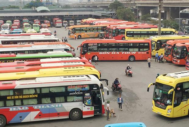Tạm dừng các tuyến xe khách Hà Nội đi Quảng Ninh - Ảnh 1.