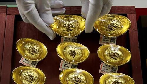 Thị trường vàng Trung Quốc sôi động trước Tết cổ truyền  - Ảnh 1.