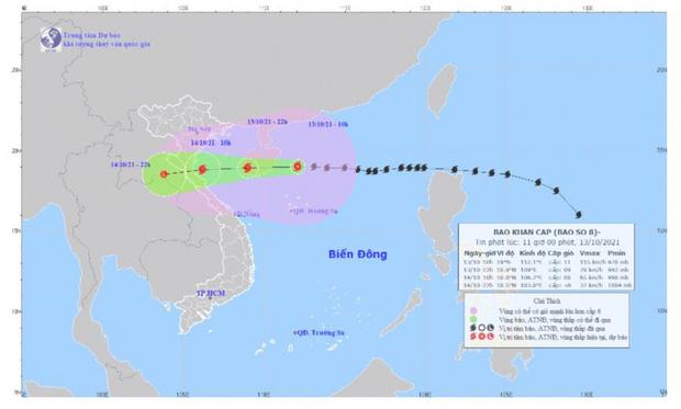 Bão số 8 giật cấp 14 đang tiến sát nước ta, Bộ Quốc phòng huy động 15 máy bay, 274 xe đặc chủng để ứng phó - Ảnh 1.