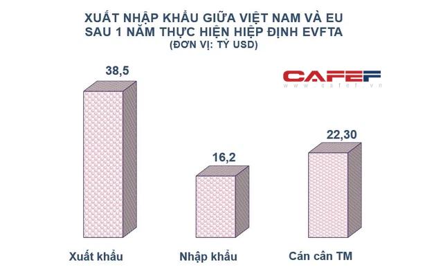 EU rót vốn hàng tỷ USD vào Việt Nam sau 1 năm thực thi EVFTA  - Ảnh 1.