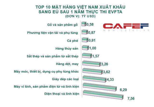 EU rót vốn hàng tỷ USD vào Việt Nam sau 1 năm thực thi EVFTA  - Ảnh 2.