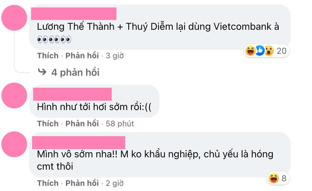 Fanpage Vietcombank tiếp tục bị netizen hùa nhau tấn công sau khi bà Phương Hằng gọi tên Lương Thế Thành - Thuý Diễm - Ảnh 3.