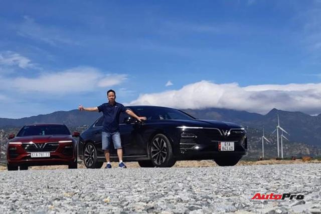 Đổi từ Toyota Vios và Honda CR-V sang VinFast Lux A2.0, chủ xe dày dạn kinh nghiệm ở Bình Dương nói gì? - Ảnh 1.