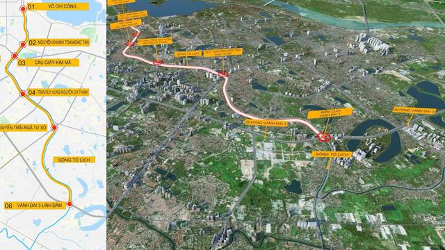 Đề xuất miễn phí lập quy hoạch hầm ngầm chống ngập kết hợp với cao tốc ngầm dọc sông Tô Lịch  - Ảnh 1.
