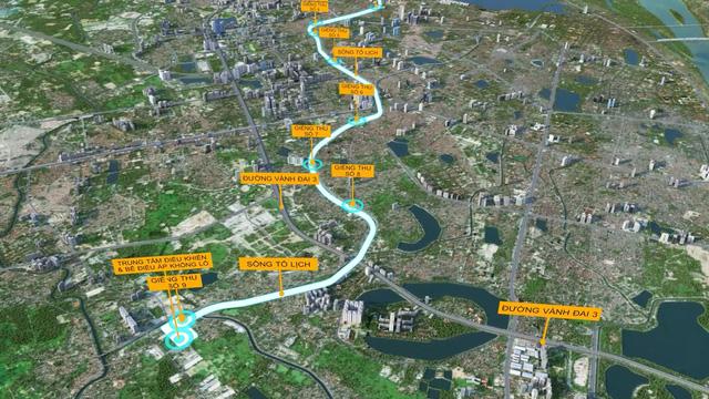 Đề xuất miễn phí lập quy hoạch hầm ngầm chống ngập kết hợp với cao tốc ngầm dọc sông Tô Lịch  - Ảnh 3.