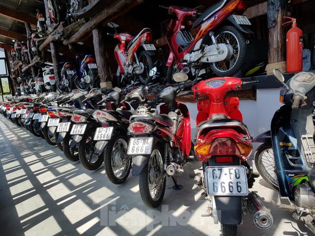 Mê mẩn bộ sưu tập 500 chiếc xe máy biển số khủng - Ảnh 13.