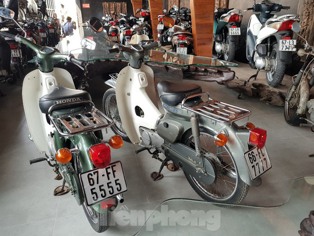 Mê mẩn bộ sưu tập 500 chiếc xe máy biển số khủng - Ảnh 14.