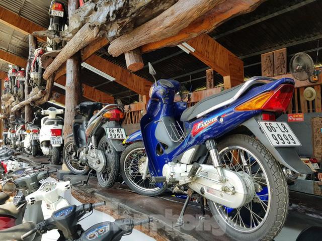 Mê mẩn bộ sưu tập 500 chiếc xe máy biển số khủng - Ảnh 5.