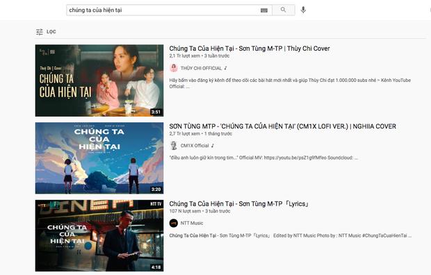 MV Chúng Ta Của Hiện Tại của Sơn Tùng M-TP đã bay màu trên YouTube ngay sau khi Hải Tú khoá Facebook? - Ảnh 1.
