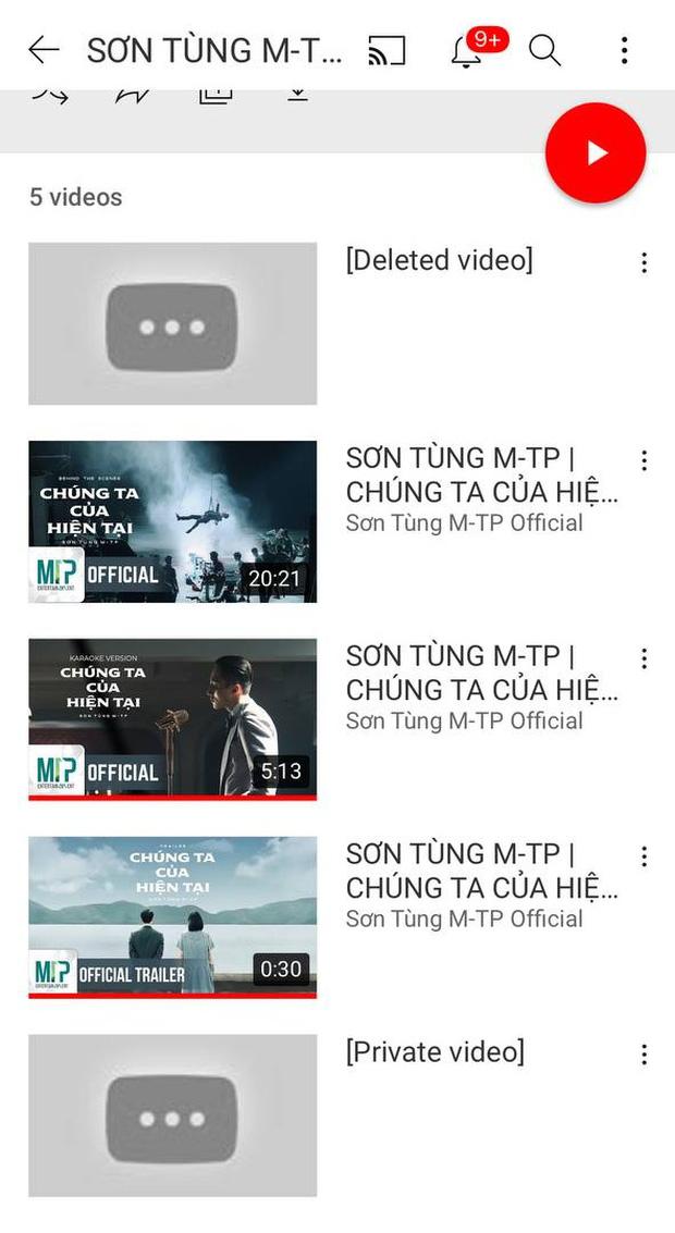 MV Chúng Ta Của Hiện Tại của Sơn Tùng M-TP đã bay màu trên YouTube ngay sau khi Hải Tú khoá Facebook? - Ảnh 4.