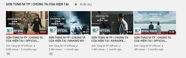 Sau bão đạo nhạc, MV Chúng Ta Của Hiện Tại của Sơn Tùng chính thức quay trở lại trên YouTube, lượt view có còn nguyên vẹn? - Ảnh 3.