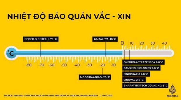 Nhiệt độ - yếu tố sống còn trong quy trình vận chuyển vắc-xin ngừa COVID-19 - Ảnh 1.