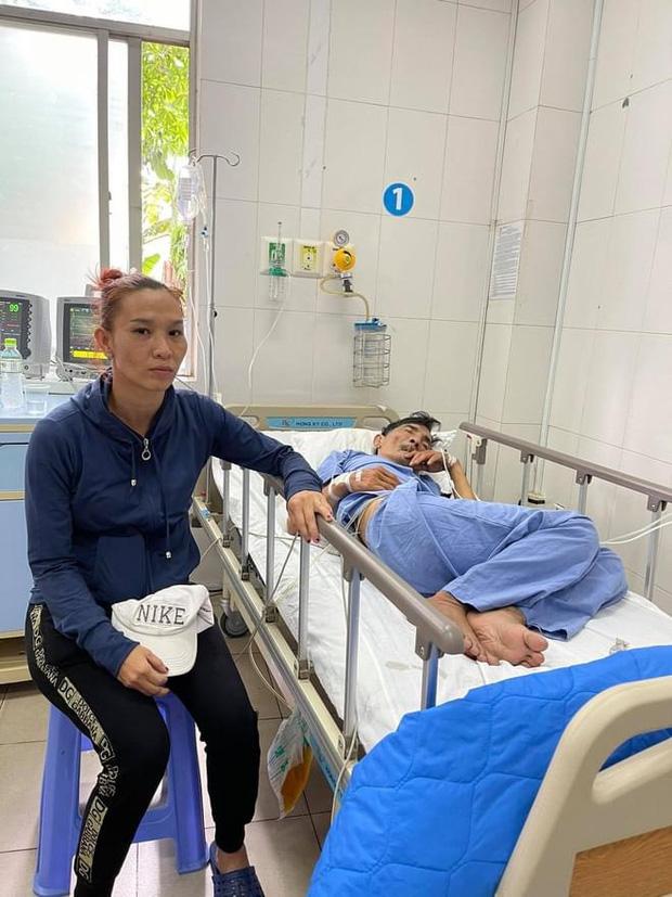 Bà xã kém 32 tuổi giải thích lý do không kề cận khi NS Thương Tín bị đột quỵ, tiết lộ cuộc sống hôn nhân vô cùng khó khăn - Ảnh 2.