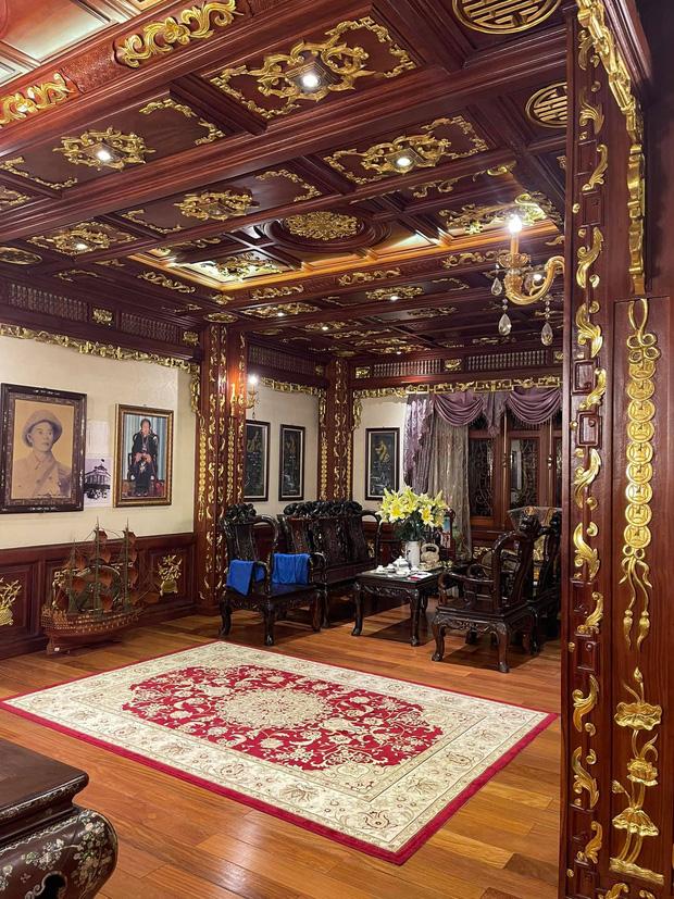 Biệt thự 7 tầng của đại gia ngành sắt Việt giàu lên từ thu mua sắt vụn: Độ hoành tráng sánh ngang lâu đài, tổng giá trị cỡ 300 tỷ - Ảnh 7.