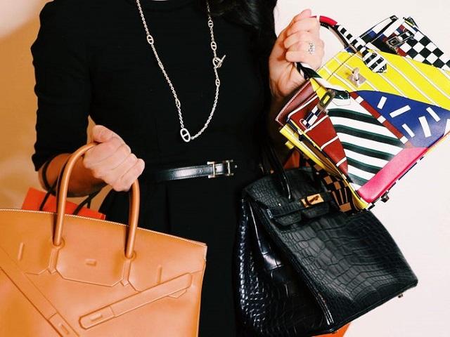 Cô gái kiếm tiền bằng cách giúp giới nhà giàu bán lại túi Hermès giá cao - Ảnh 1.