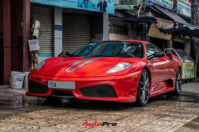 Ferrari F430 Scuderia từng của doanh nhân Hải Phòng lộ diện sau hơn 3 tháng nằm showroom - Ảnh 10.