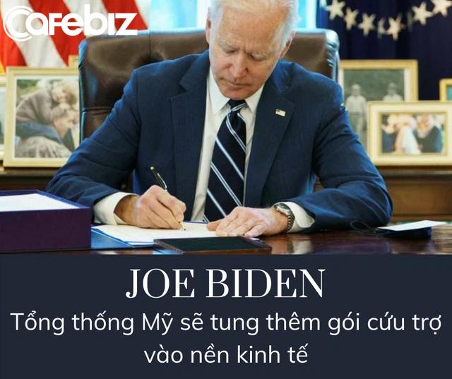 Tổng thống Biden sẽ bơm thêm 3.000 tỷ USD vào nền kinh tế Mỹ? - Ảnh 1.