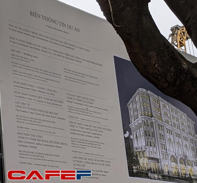 Từng có giá đền bù 1 tỷ đồng/m2, nhà phát triển khu đất 4.000m2 sát Hồ Gươm đã được chuyển giao từ Tân Hoàng Minh sang Masterise Homes  - Ảnh 1.